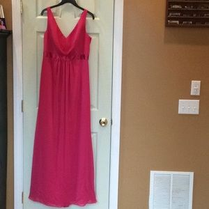 Floor length prom/bridesmaid dress